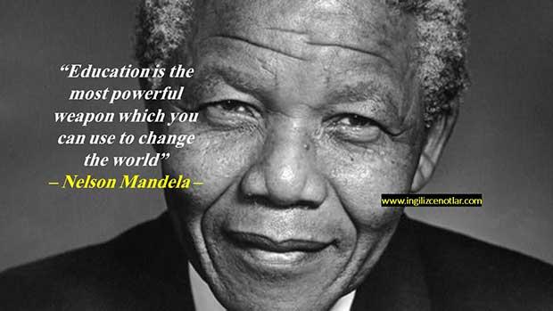 İngilizce-Nelson-Mandela-Eğitim-dünyayı-değiştirmek-için