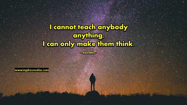 İngilizce-Socrates-Hiç-kimseye-hiçbir-şey-öğretemem-Yalnızca
