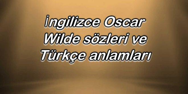 İngilizce-Oscar-Wilde-sözleri