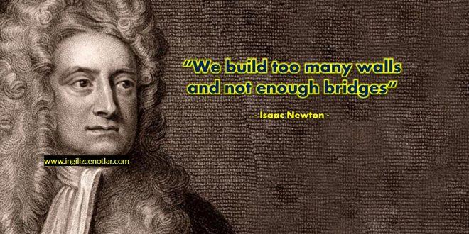 Isaac Newton - Çok fazla
