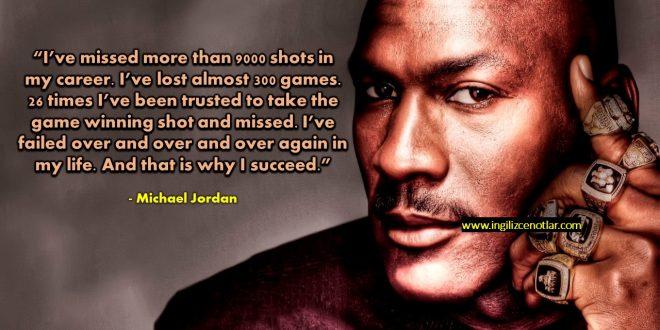 Michael Jordan - Kariyerim