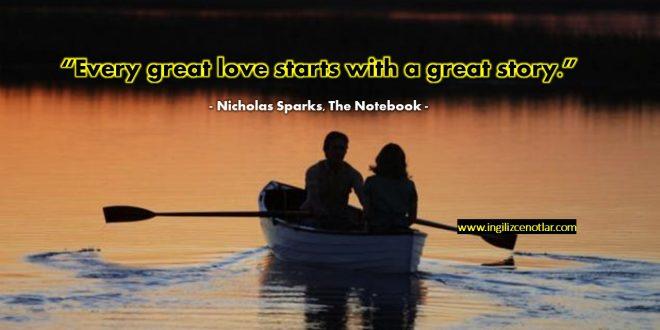 Nicholas Sparks - Her büyük