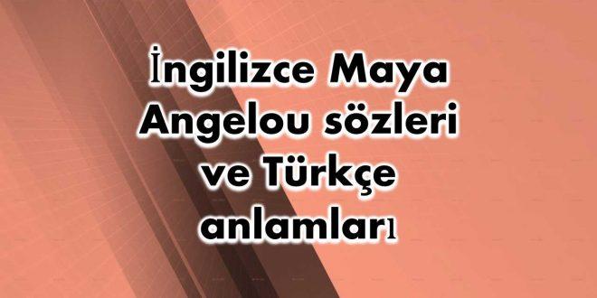 İngilizce-Maya-Angelou-sözleri