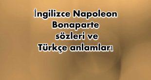 İngilizce-Napoleon-Bonaparte-sözleri
