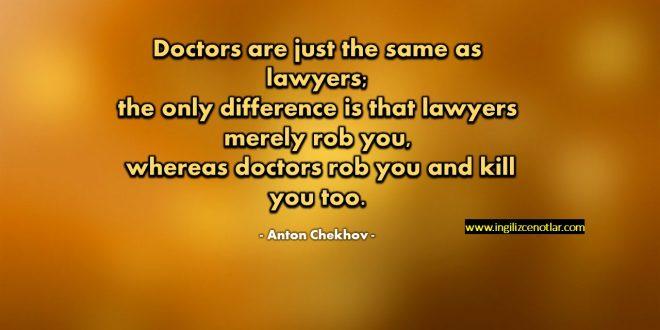 Anton Chekhov - Doktorlarda