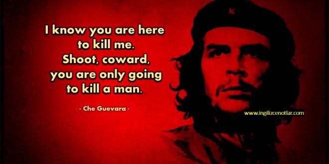 Che Guevara - Biliyorum