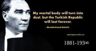 Mustafa Kemal Atatürk - Beni