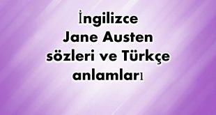 İngilizce-Jane-Austen-sözleri