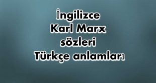 İngilizce-Karl-Marx-sözleri
