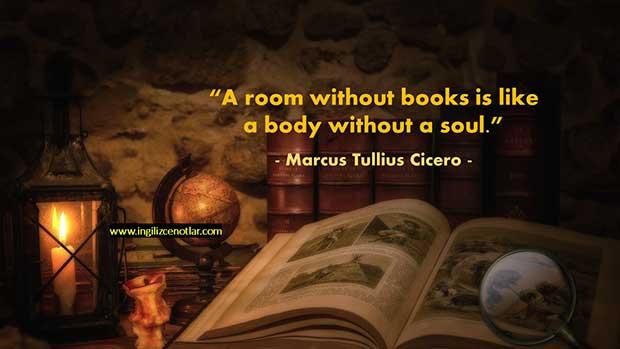 İngilizce-Marcus-Tullius-Cicero-Kitapsız-bir-oda-ruhsuz