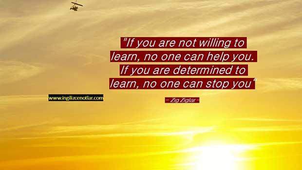İngilizce-Zig-Ziglar-Eğer-öğrenmeye-isteğin-yoksa-hiç-kimse