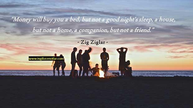 İngilizce-Zig-Ziglar-Para-size-ancak-bir-yatak-alabilir