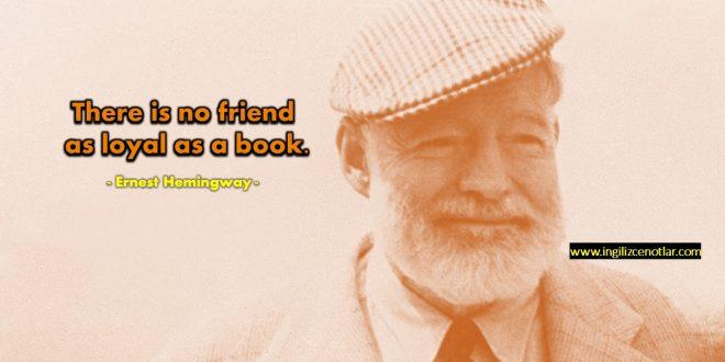 Ernest Hemingway - Kitap