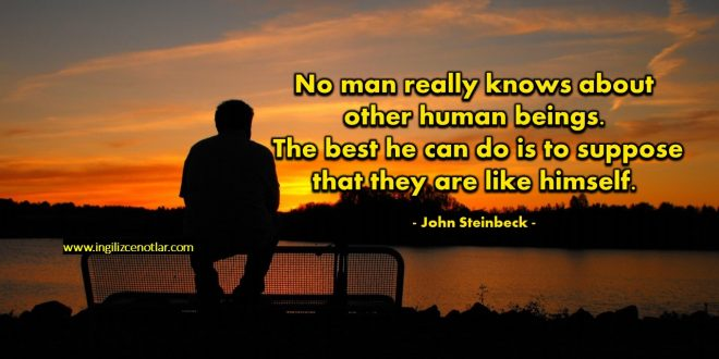John Steinbeck - Hiç kimse