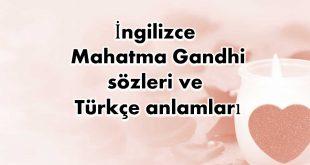 İngilizce-Mahatma-Gandhi-sözleri