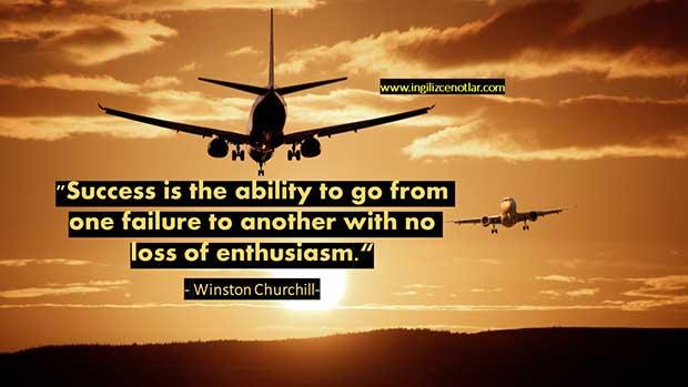 İngilizce-Winston-Churchill-Başarı-bir-başarısızlıktan-diğerine
