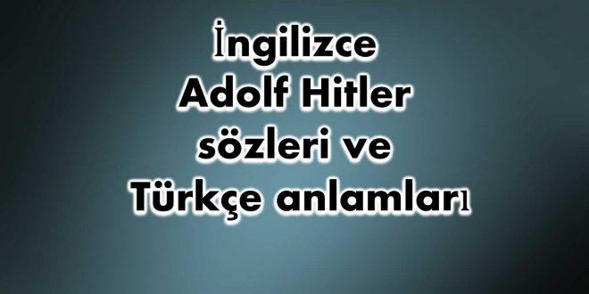 İngilizce-Adolf-Hitler-sözleri