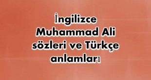 İngilizce-Muhammad-Ali-sözleri