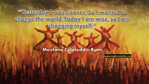 Mevlana-Celaleddin-Rumi-Dün-akıllıydım,-dünyayı-değiştirmek-istedim