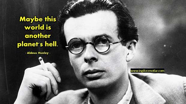 İngilizce-Aldous-Huxley-Belki-de-bu-dünya-başka-bir-gezegenin