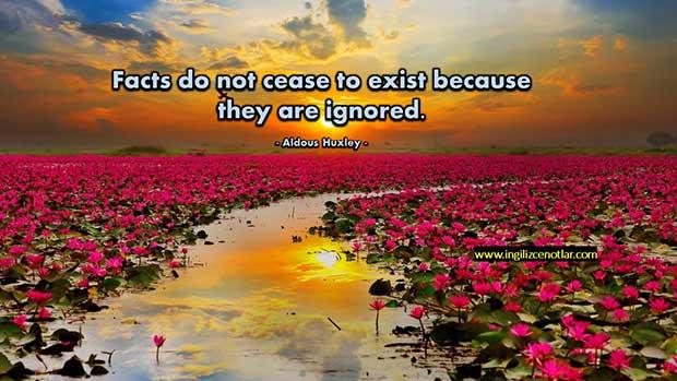İngilizce-Aldous-Huxley-Gerçekler-yok-olmaz-çünkü-göz