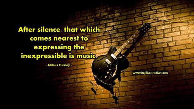 İngilizce-Aldous-Huxley-Sessizlikten-sonra-anlatilamaz-olani-ifade-etmek