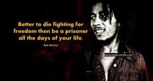 İngilizce Bob Marley sözleri