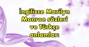 İngilizce-Marilyn-Monroe-sözleri
