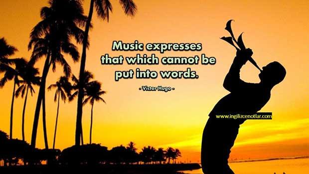 ingilizce-Victor-Hugo-Müzik-söylenemeyen-ve-hakkında