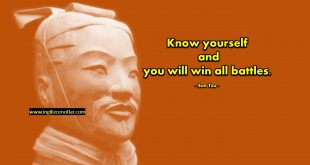 Sun Tzu - Kendini tanırsan, tüm savaşları...