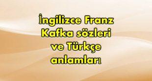 İngilizce-Franz-Kafka-sözleri