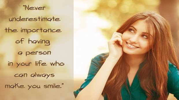 İngilizce gülümsemek ile ilgili sözler