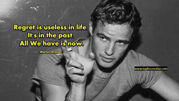 Marlon-Brando-Pişmanlık-hayatta-işe-yaramaz