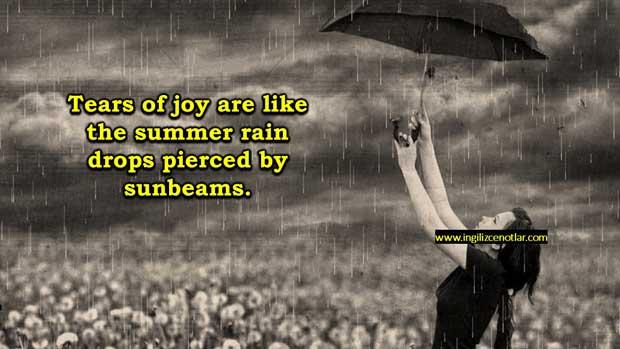 ingilizce-yağmur-sözleri