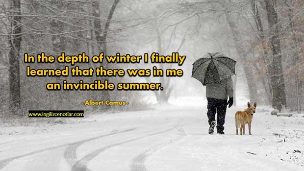 İngilizce-Albert-Camus-Kışın-derinliğinde,-nihayet-içimde-yenemediğim