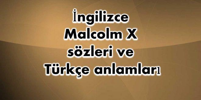 İngilizce-Malcolm-X-sözleri