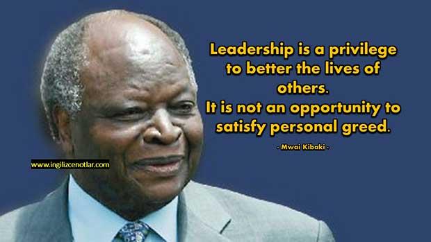 Mwai-Kibaki-Liderlik-kişisel-doyumsuzluğu-tatmin-etmek